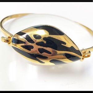Diane Von Furstenberg twig bangle bracelet